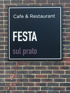 Festa sul prato, London